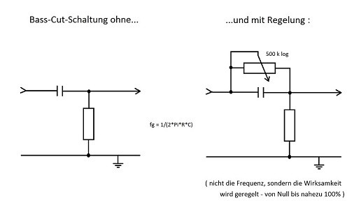 Ziemlich Potentiometer Schaltplan Für Eine Bassgitarre Ideen - Der ...