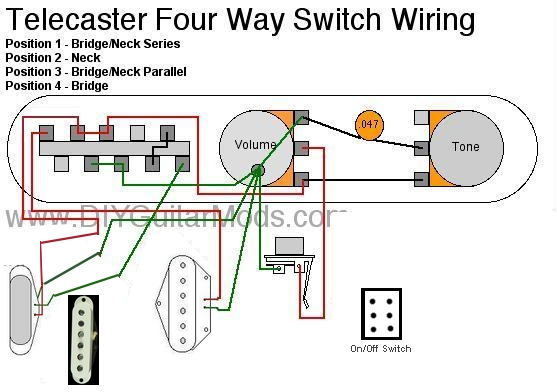 Telecaster Wiring 5-Way | Musiker-Board on