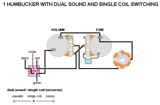 Frage zur Verkabelung: 1 x H Volume, Tone; Mini Toggle Parallel ...