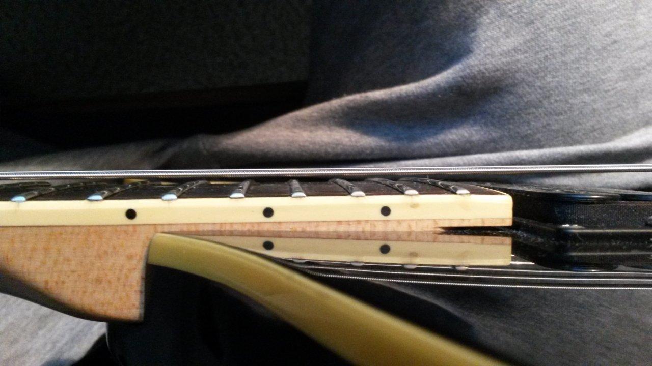 Gitarre Bass Griffbrett Bund Protector Griffbrett Wachen Stahl Shim biegsam Heiß