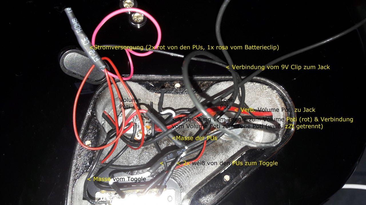 EMG 81/85 (gebraucht gekauft) trotz Plan-Verdrahtung viel zu wenig ...