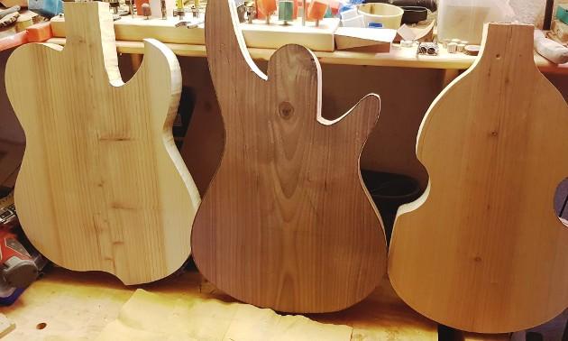 Gitarren Eigenbau