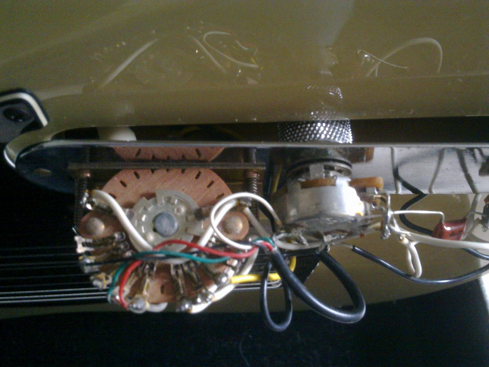 Telecaster] Humbucker von seriell auf parallel | Musiker-Board