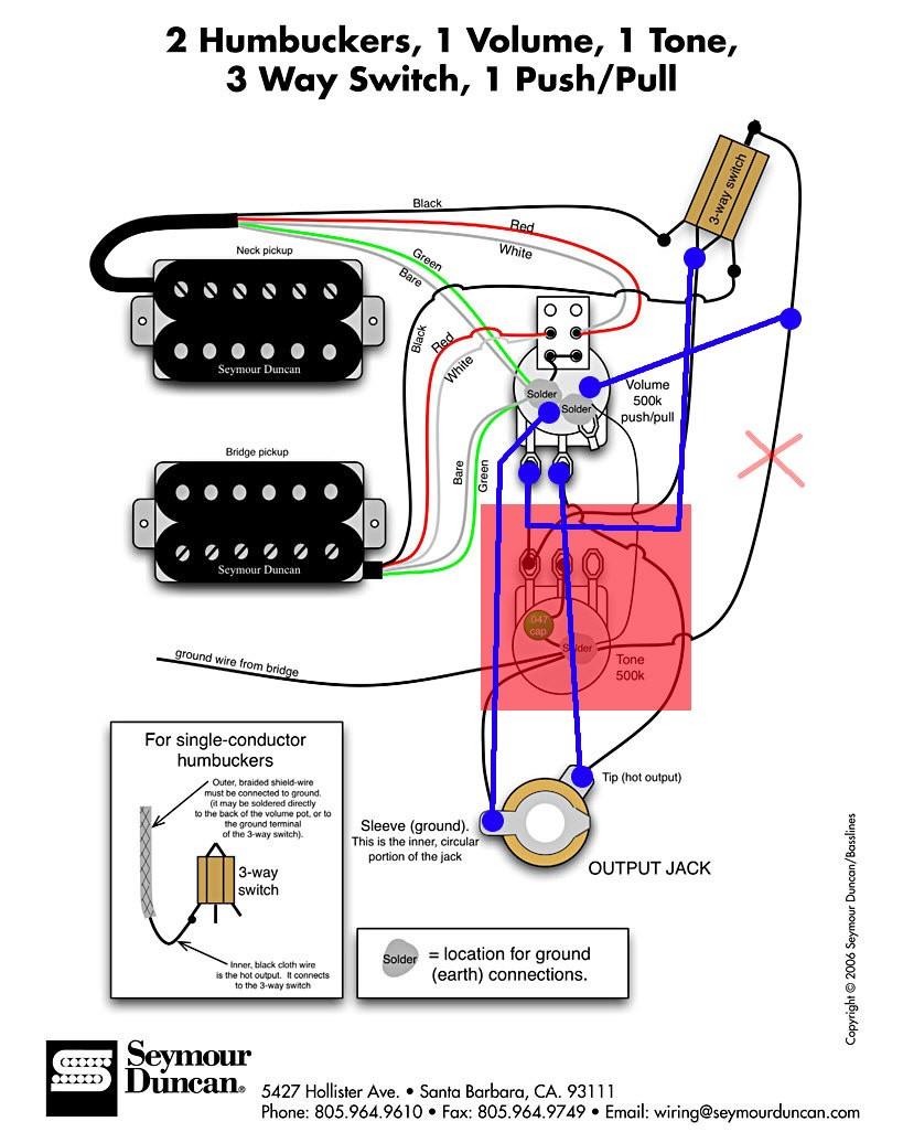 Großartig Gitarre Schaltplan 2 Humbucker Zeitgenössisch - Die Besten ...