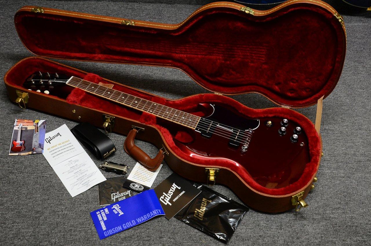 54 Gibson SG Special 2019 Vintage Sparkling Burgundy 08.jpg