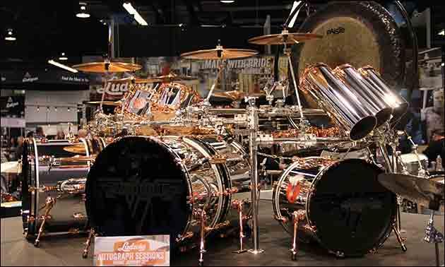 Ludwig Alex van Halen Drumset