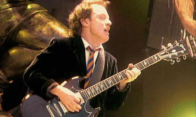 Angus Young live