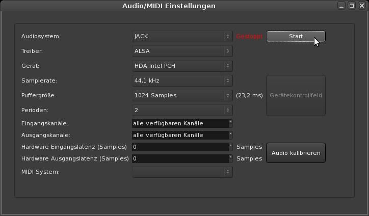 Ardour 3 - Audio-MIDI Einstellungen.png