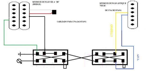 fender jag stang und seymour duncan sh 4 (jb) musiker board jagstang wiring diagram at n-0.co