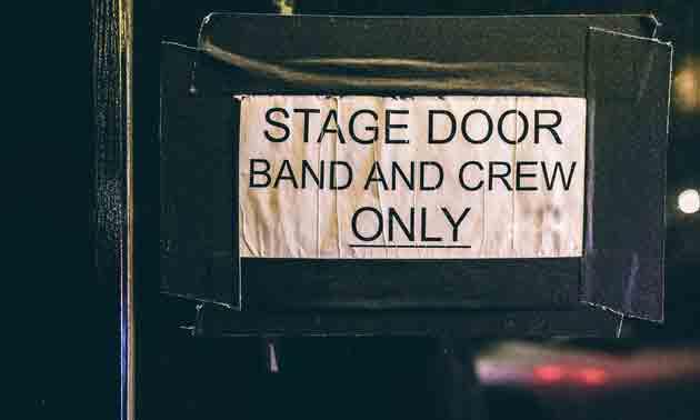 backstage-door-crew-only