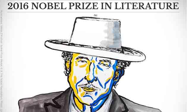 Bob Dylan Literaturnobelpreis 2016