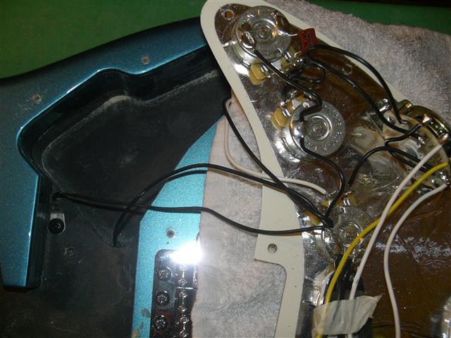 Strat 2 Kondensatoren | Musiker-Board