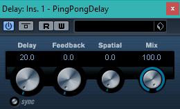 Cubase LE 5 PingPongDelay.png