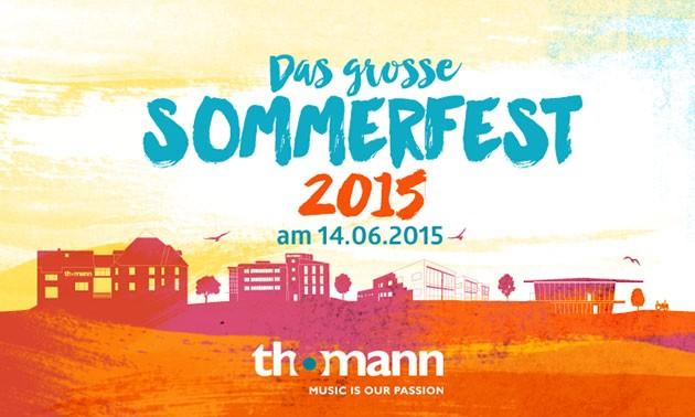 Thomann Sommerfest 2015