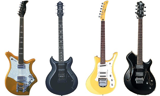 Discontinued Guitars