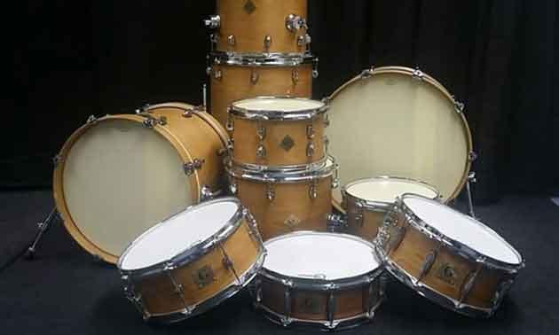 Delbert Drums DIY-Drumset