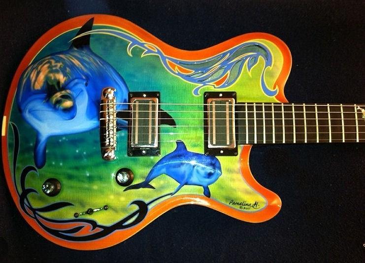 Wie bekomme ich am besten ein Motiv auf meine Gitarre? | Musiker-Board