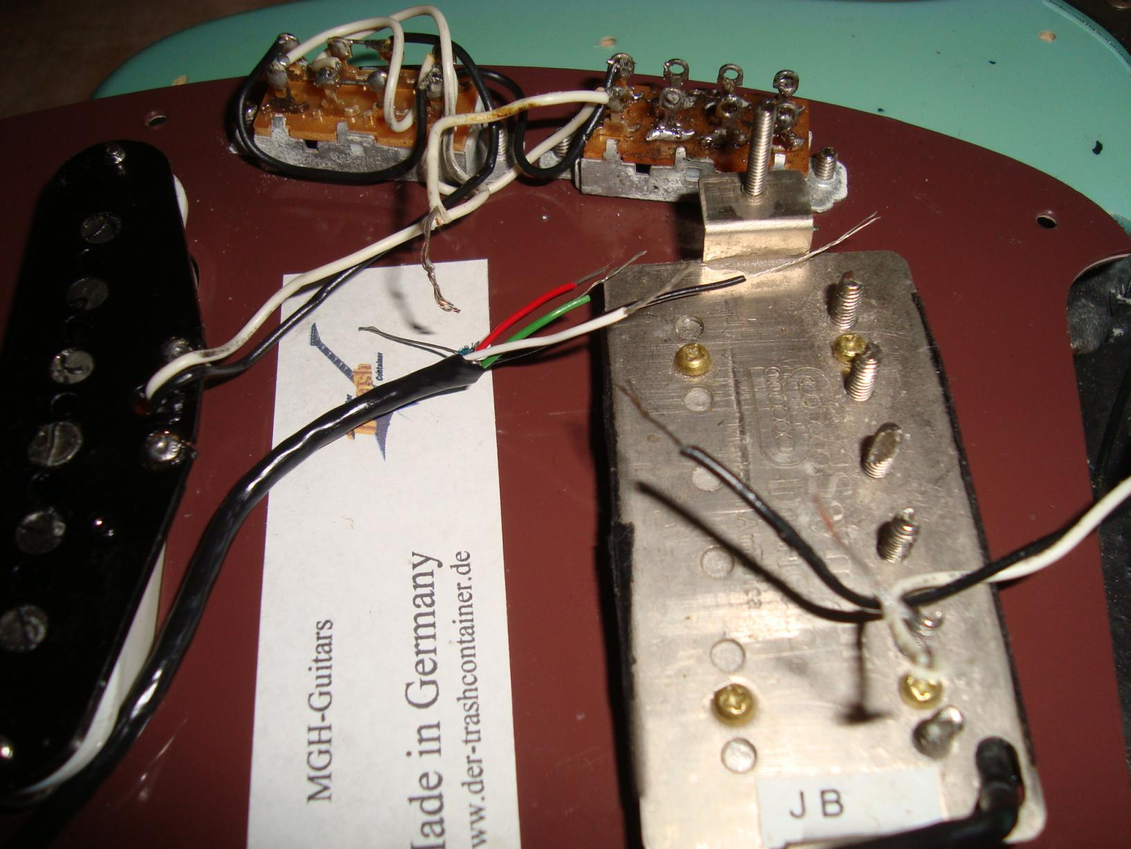 Fender Jag--Stang und Seymour duncan sh-4 (JB)   Musiker-Board
