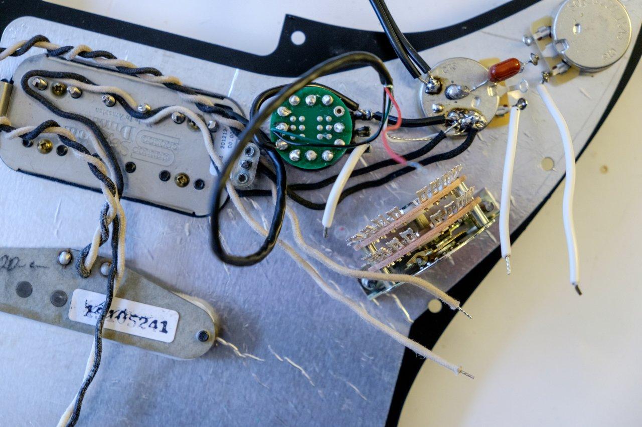 HSS Strat Coil Split per S1-Switch | Musiker-Board