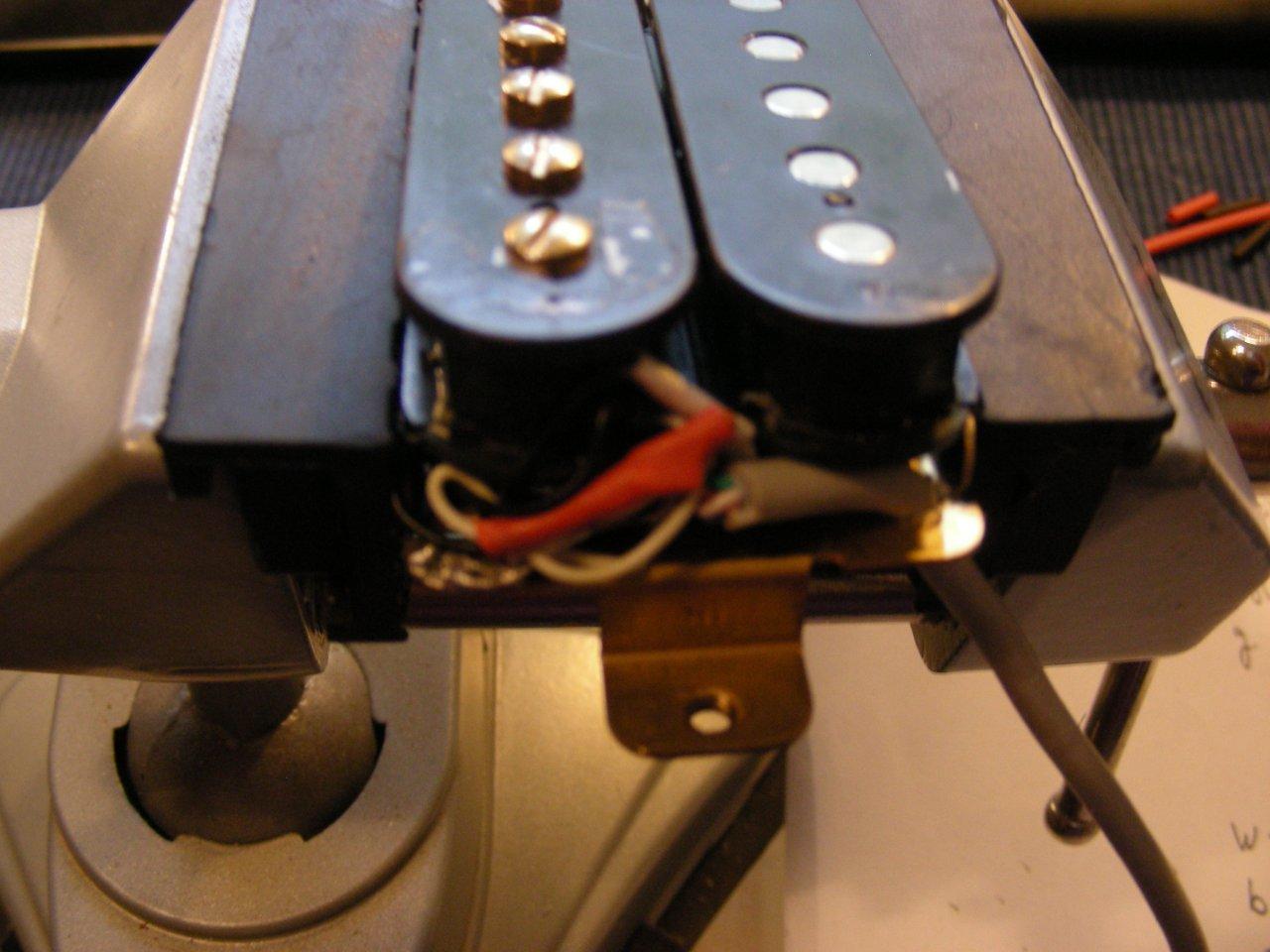 Pickup-Umbau von 2-adrig auf 4-adrig   Musiker-Board