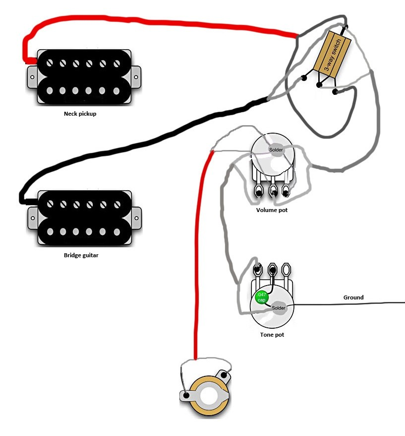 Les Paul 100 Wiring Diagram Kit Gibson 174 Jimmy Page: Wiring Diagram For Epiphone Les Paul Special At Imakadima.org
