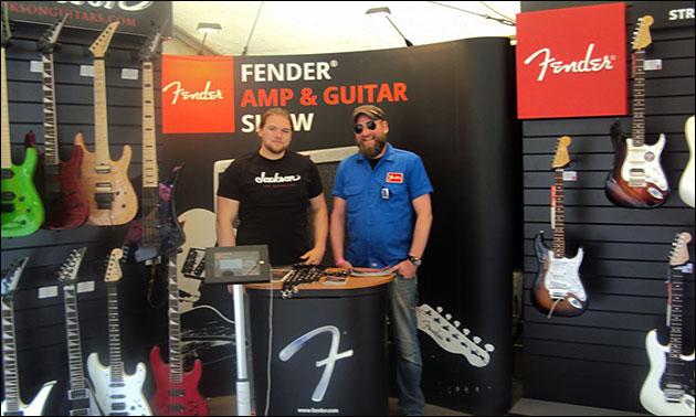 Fender Präsentation