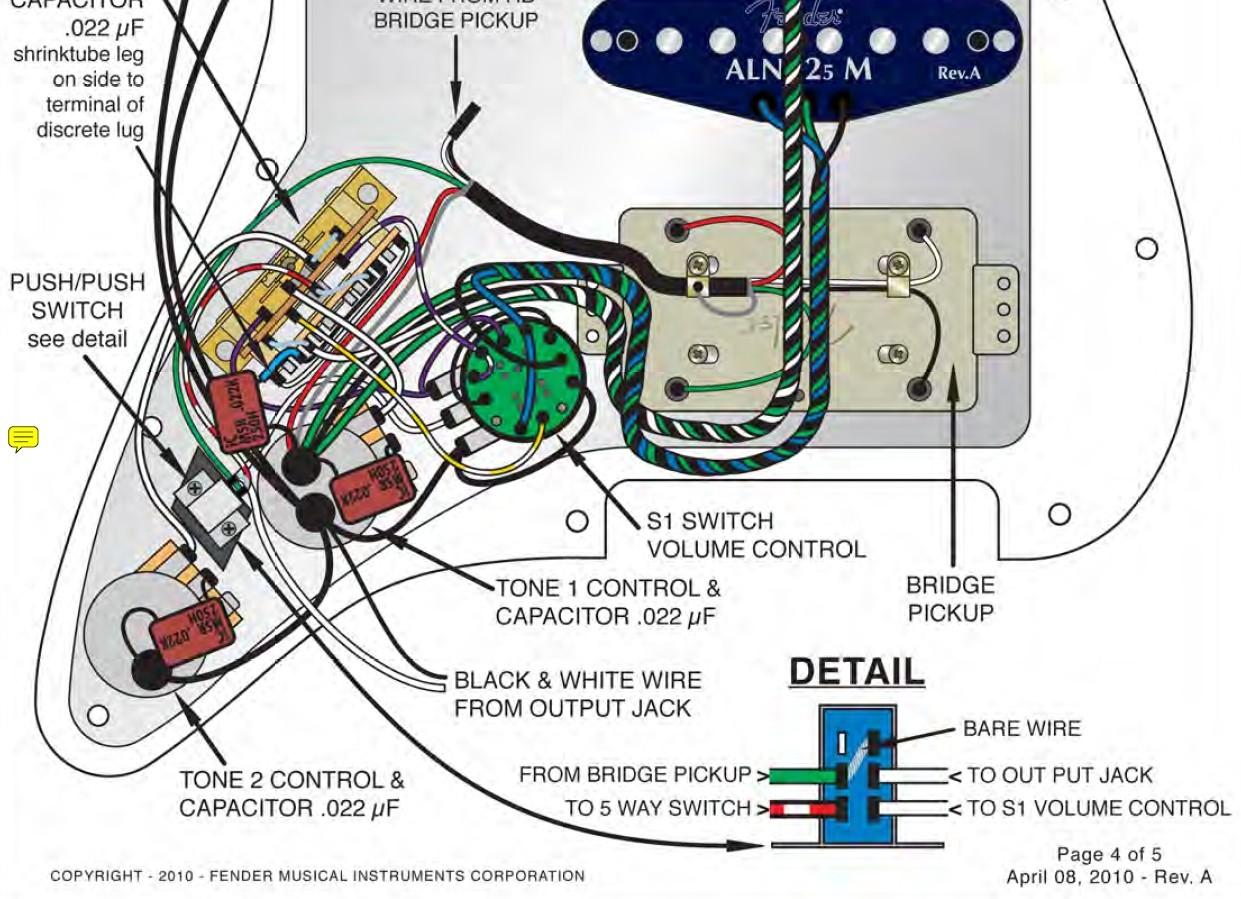 Atomic Humbucker in Fender American Deluxe HSS Strat tauschen ...