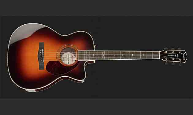 Fender Paramont front
