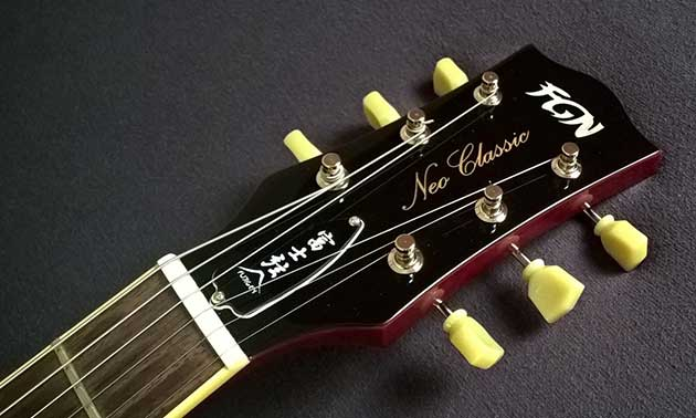 FGN Neo Classic LS10 Cherry Sunburst