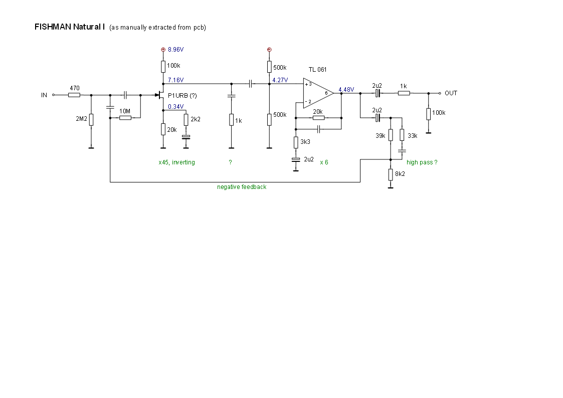 Fishman Piezo Wiring Diagram With Library Acoustic Guitar Circuit And Useful Links Mods Schematics Natural Preamp Schematic