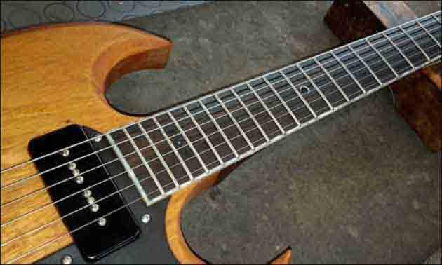 Formentera SG Gitarre 2015