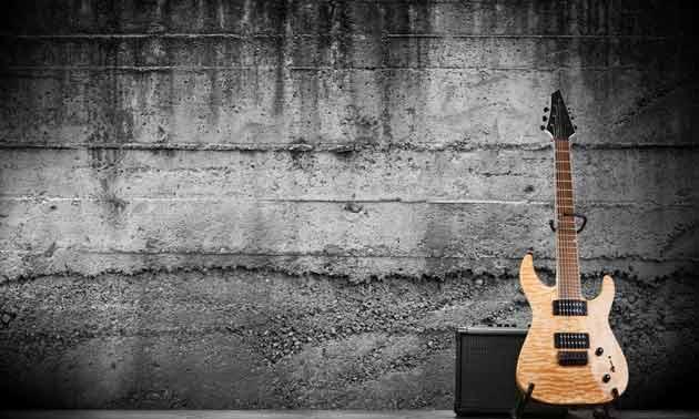 Gitarrenlagerung