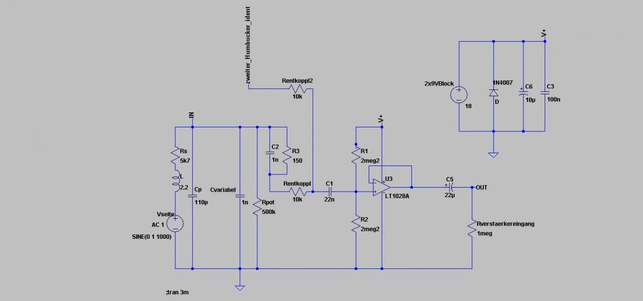 Ungewöhnlich Schaltplan Für Die Gitarrenaufnahme Ideen - Elektrische ...
