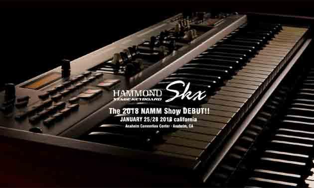 hammond-skx-premiere-namm