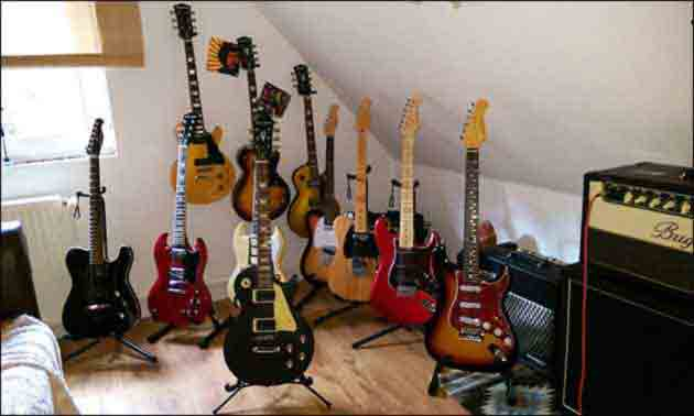 Harley Benton Sammlung