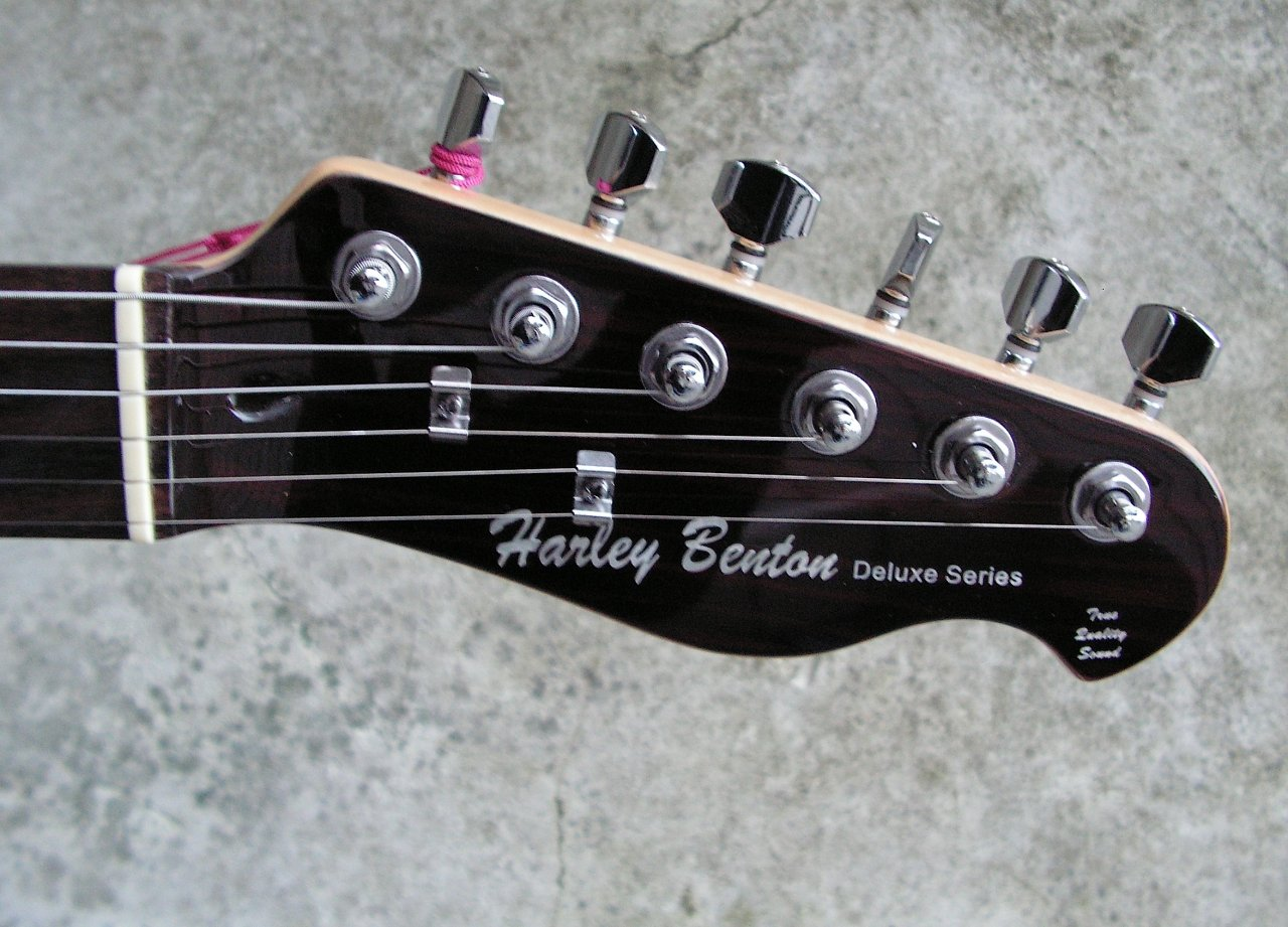Gitarre] Harley Benton TE-70 Rosewood Deluxe Series