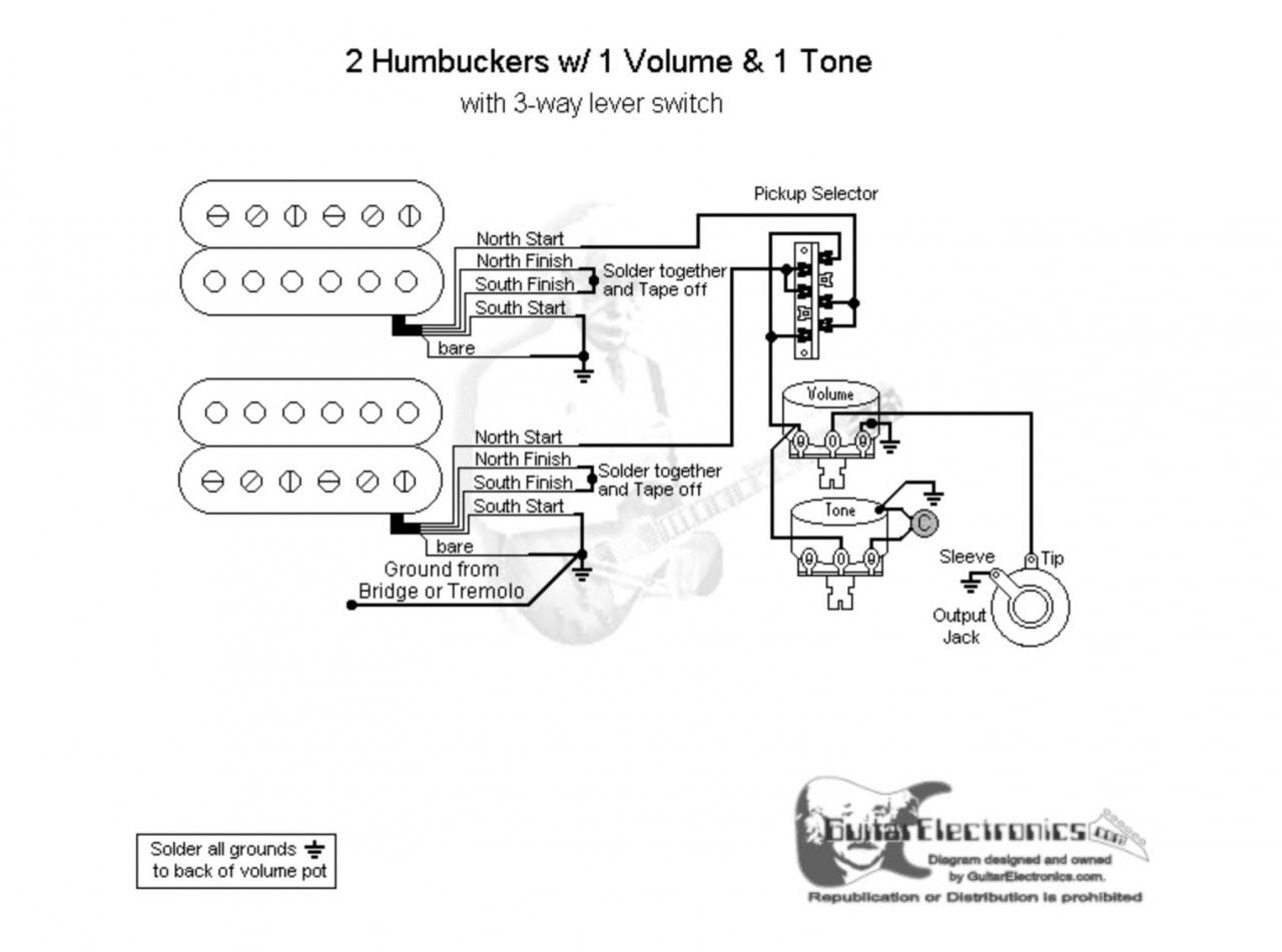 Groß 2 Humbucker Schaltplan Bilder - Elektrische Schaltplan-Ideen ...