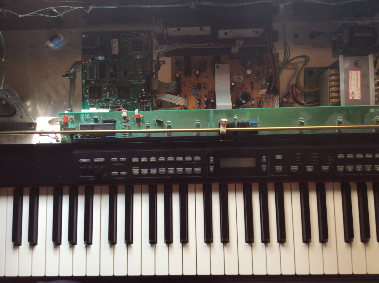 Generalmusic RealPiano Digital RP2 Reparatur | Musiker-Board
