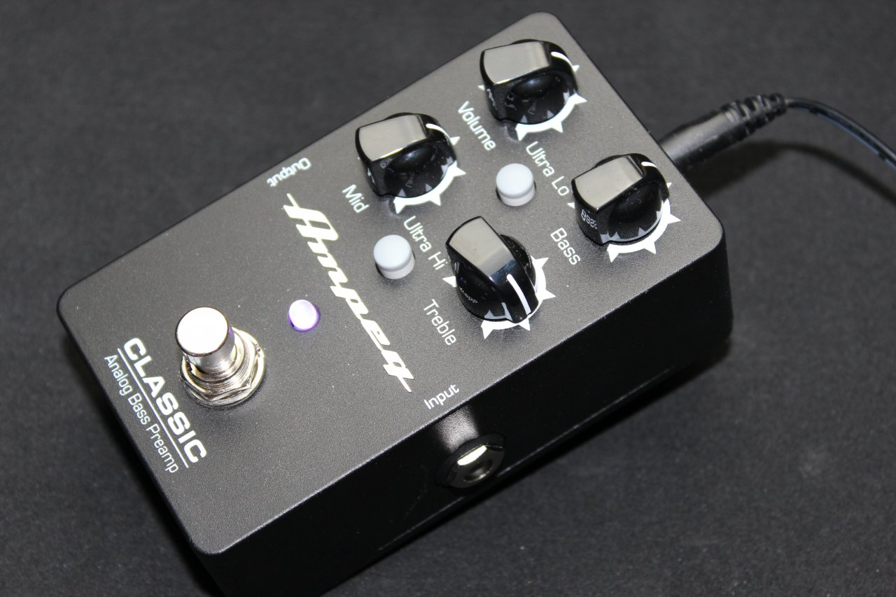 Ampeg Classic Analog Bass Preamp
