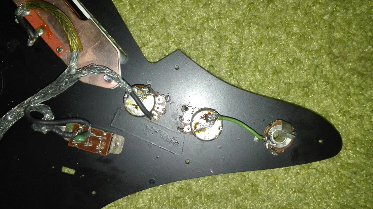 Epiphone ET270 - PU-/Poti-Verschaltung u. Kondensator-Frage ...