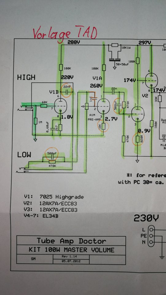 Outstanding Peavey Bravo Schematic Mold - Everything You Need to ...