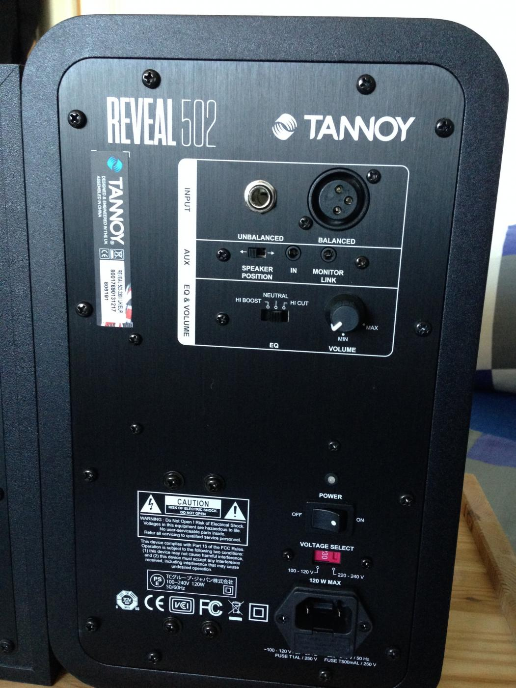 Tannoy Reveal 502 | Musiker-Board