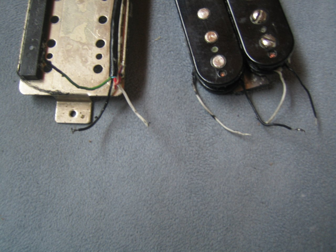 Seymour Duncan Humbucker Aufbau Elektrik/Kabel   Musiker-Board
