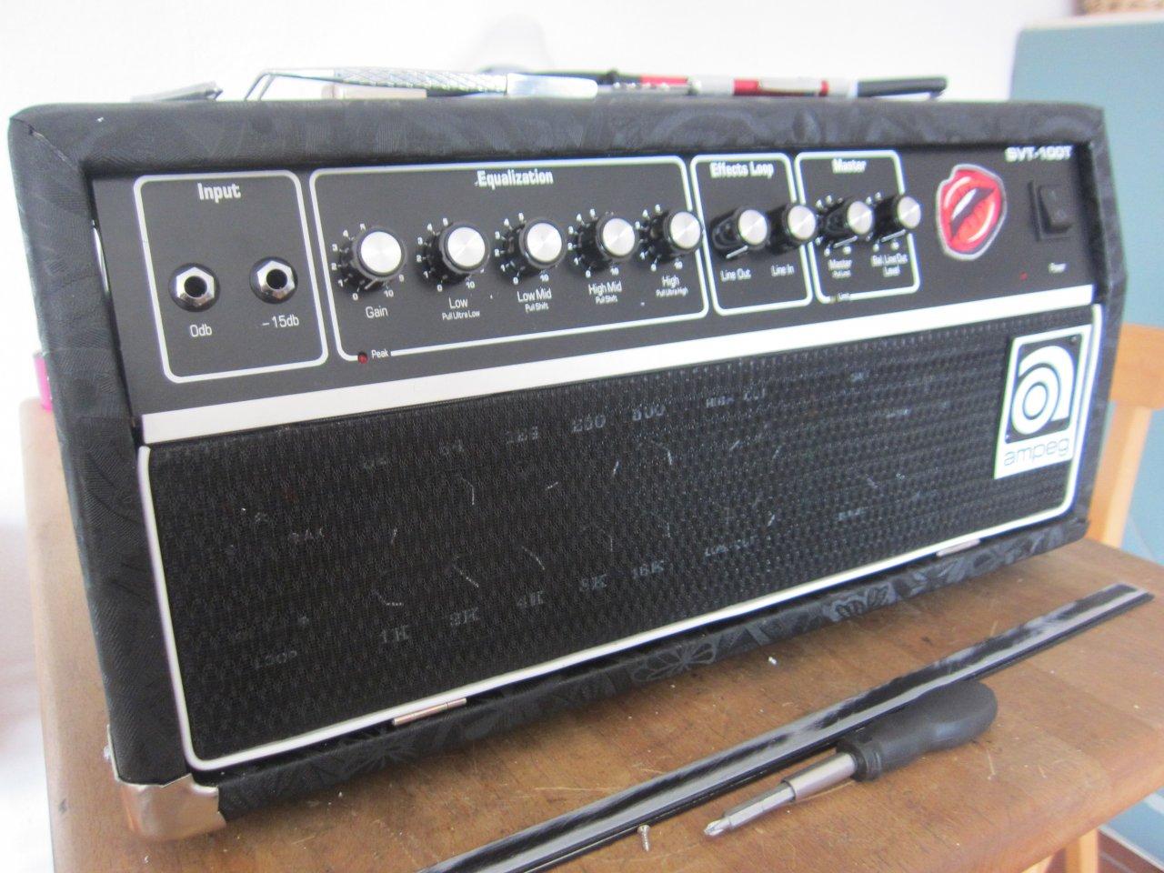 Gitarren amp Topteil