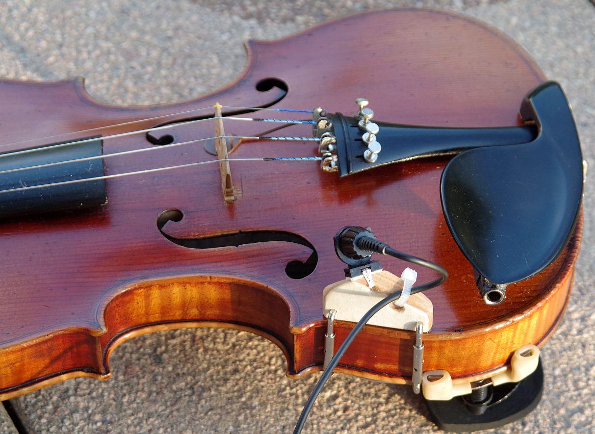 DIY-Geigen-Mikrofon zum anklemmen