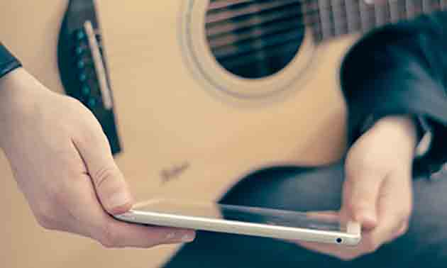 Ipad Recording Gitarre