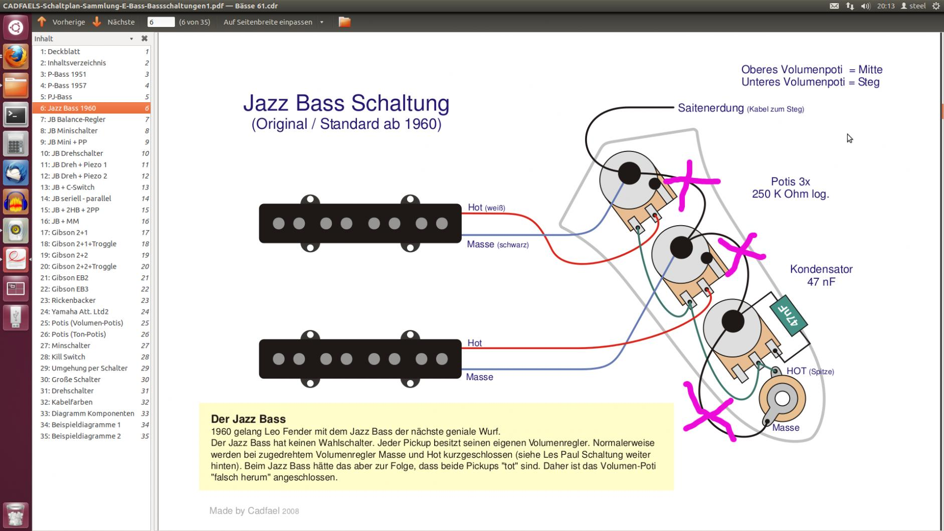 Nett Jaguar Bass Schaltplan Fotos - Die Besten Elektrischen ...
