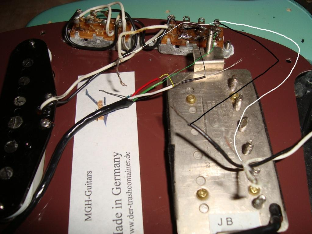 Fender Jag--Stang und Seymour duncan sh-4 (JB) | Musiker-Board