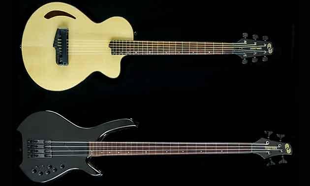 Lightwave Atlantis Saber Gitarre und Bass
