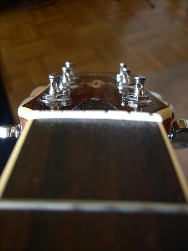 Westerngitarre Detail